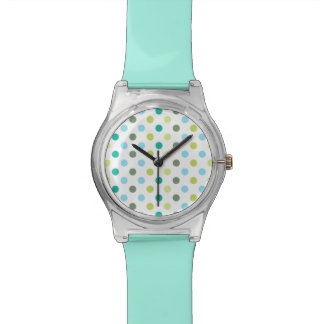 Stylish Polka Dot Wristwatch