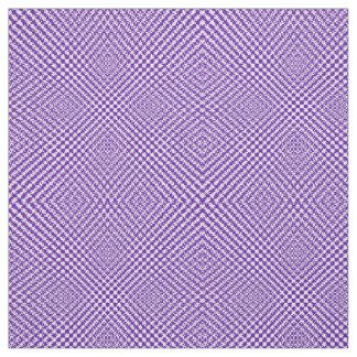 Stylish Purple Textured Herringbone Patterned Fabric