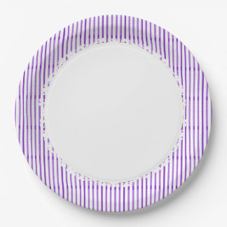 Stylish-Purple-White-Everyday-Multi-Size Paper Plate
