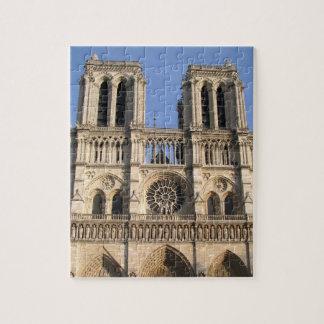 Stylish Puzzle with Notre Dame de Paris