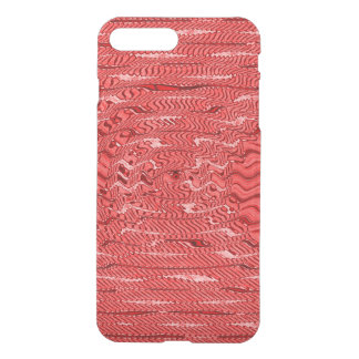 Stylish red pattern design iPhone 7 plus case