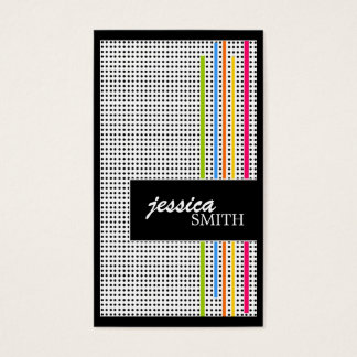 Stylish Retro Business Cards