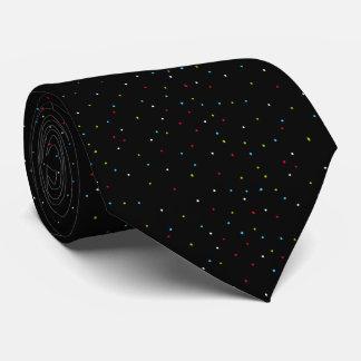 Stylish Small Bright Speckles Black Tie