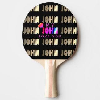 Stylish, Smart Bat for John Ping Pong Paddle
