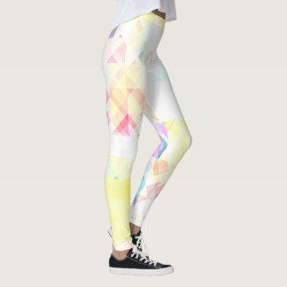 Stylish Soft Geometric Pattern Leggings
