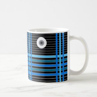 Stylish Solar Panel Design on Mug