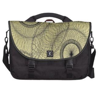 Stylish Spirograph Swirly Zen Doodle Pattern Computer Bag