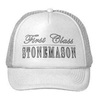 Stylish Stonemasons : First Class Stonemason Trucker Hat