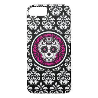 Stylish sugar skull iPhone 8/7 case
