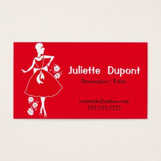 Stylish Tailor Dressmaker red