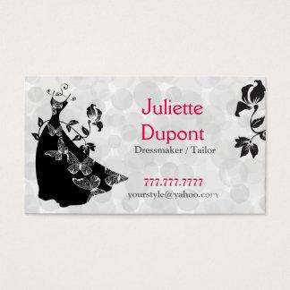 Stylish Tailor Dressmaker tailor salon Business Card