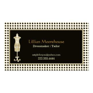 Stylish Tailor Shop Business Card
