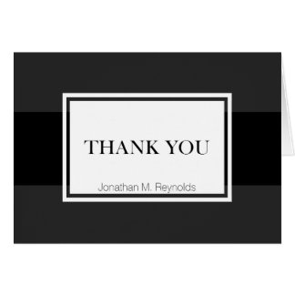 Stylish Thank You Note Cards for Business