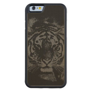 Stylish Tiger Wooden Maple iPhone 6 Bumper Case