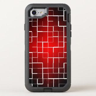 stylish tile background iphone OtterBox defender iPhone 7 case