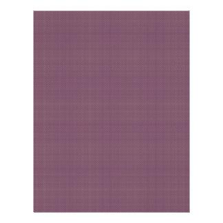 Stylish tiny light brown turbines on purple backgr full color flyer