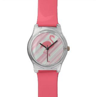 Stylish Tropical Flamingo Watch
