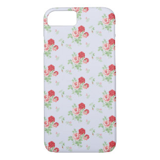 Stylish Vintage Floral Flowers iPhone 7 Case