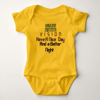 Stylish Vision Hakuna Matata Have a Nice Day Baby Bodysuit