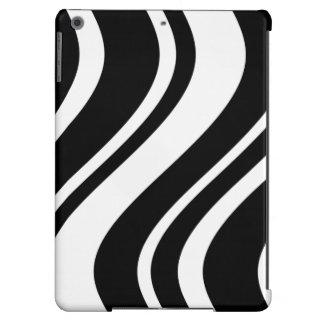 Stylish Wavy Zebra stripes iPad case