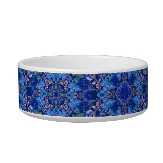 Stylish whimsical lux floral watercolor pattern bowl