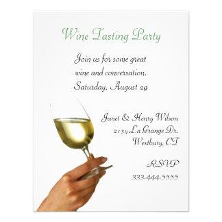 Stylish Wine Tasting Party Invitation