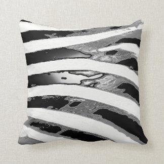 Stylish Zebra Pattern Accent Pillow