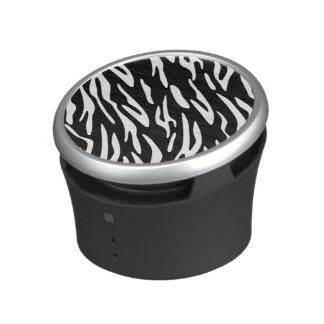 Stylish Zebra Print Speaker