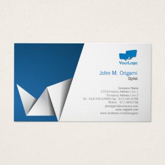 Stylist Card Origami Folds