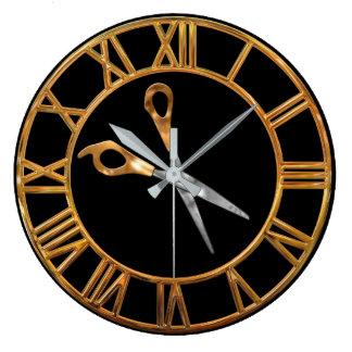 Stylist Gold Large Clock