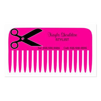 Stylist Hairdresser Business Cards