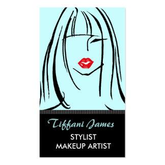 Stylist Makeup Artist Business Cards