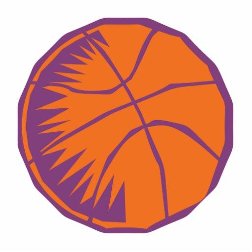 stylized basketball photo cutouts