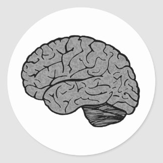 Stylized Brain Stickers