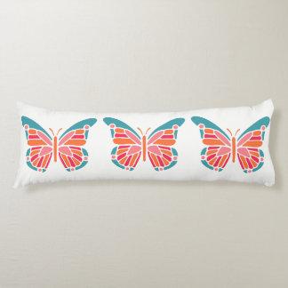 Stylized Butterfly body pillow