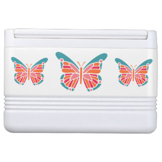 Stylized Butterfly custom name cooler