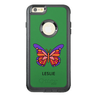 Stylized Butterfly custom name phone cases