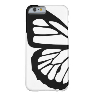 Stylized Butterfly Customizable Design Barely There iPhone 6 Case