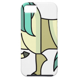 Stylized Cartoon Horse iPhone 5 Cover