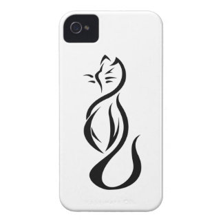 Stylized Cat Blackberry Bold Case