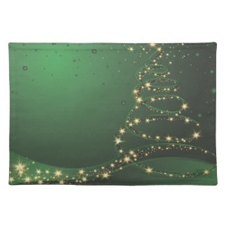 Stylized Christmas Tree  American MoJo Placemats