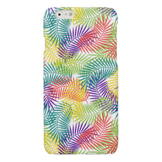 Stylized Colorful Tropical Leafs