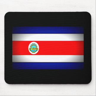 Stylized Costa Rica Flag Mouse Pad