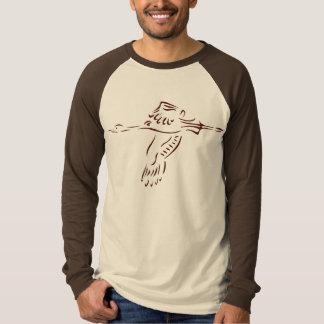 Stylized Crane T-Shirt