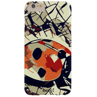Stylized drawing of a Red Ladybug Barely There iPhone 6 Plus Case
