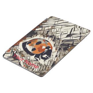 StylizeddrawingofaRedLadybug iPad Air Cover