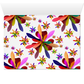 Stylized Flower 1 Card