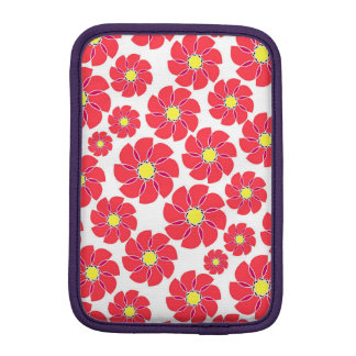Stylized Flowers iPad Mini Sleeve