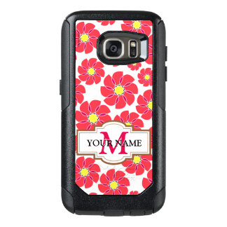 Stylized Flowers OtterBox Samsung Galaxy S7 Case