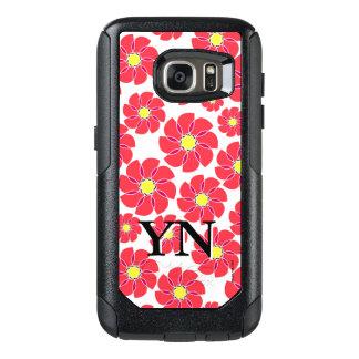 Stylized Flowers OtterBox Samsung Galaxy S7 Case